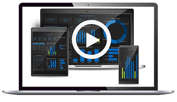 Business Intelligence Dashboard - IT Helpdesk Dashboard
